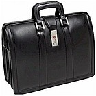 Litigator Leather Computer Briefcase
