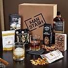 Whiskey Lover Man Stash Gift Box
