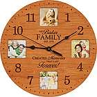 Lasting Memories Personalized Photo Wall Clock