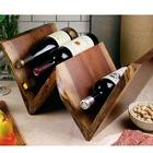 Black Walnut Wine/Magazine Storage