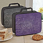 Hidden Name Personalized Lunch Tote