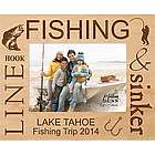 Fishing Personalized Picture Frame