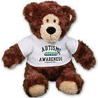 Personalized Autism Awareness Teddy Bear