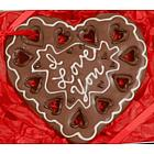 Personalized Giant Heart Cookie Gift Box