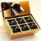 One Dozen Double Dark Heart Truffles