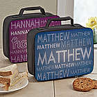 My Name Personalized Lunch Tote
