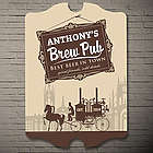 Gentleman's Brew Buggy Personalized Pub Sign
