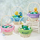 Kid's Personalized Easter Basket