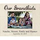 Our Grandkids Personalized Picture Frame