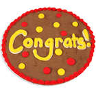 Congratulations Brownie Cake