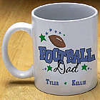 Football Parent Coffee Mug