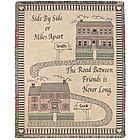 Personalized Friendship Houses Throw
