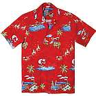 Santa Hawaiian Shirt