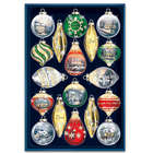 Thomas Kinkade Shimmering Splendor Ornament Set