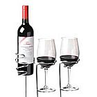 Wine Sticks Glass and Bottle Holder Set