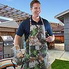 Ultimate Camo BBQ Apron Hot Mitt