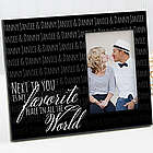 My Favorite Place Personalized Romantic Picture Frame