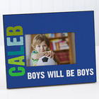 Boy's Personalized All Mine! Picture Frame