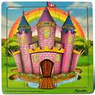 21-Piece Wooden Castle Jigsaw Puzzle