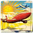 21-Piece Wooden Jetliner Jigsaw Puzzle