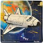 Space Shuttle Jigsaw 21 Piece Wooden Puzzle