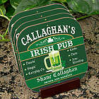 Personalized Irish Pub Pint Coasters