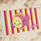 Kid's Personalized Fish Beach Towel