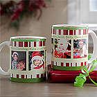 Personalized Christmas Coffee Mug with Photos