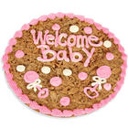 Welcome Baby Girl Cookie Cake