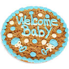 Welcome Baby Boy Cookie Cake