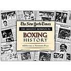 Boxing History Great Moments Newspaper Reprint