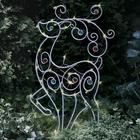 Solar LED-Lighted Holiday Garden Stake