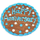 Happy Anniversary Brownie Cake
