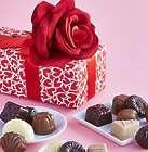 Divine Valentine Belgian Chocolate Rose Box