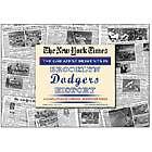 Brooklyn Dodgers History Newspaper