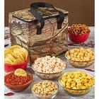Insulated Camouflage Bag of Snacks and Popcorn