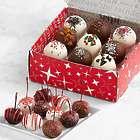 10 Christmas Cherries and 9 Christmas Cake Truffles