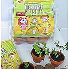 Deluxe TickleMe Plant Greenhouse Garden Kit