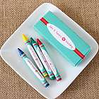 Kid's Personalized Graphic Crayon Set