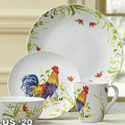 Meadow Rooster 16 Piece Dinnerware Set