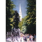Tourist Season in Massachusetts Photographic Print