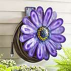 Wall Mount Purple Daisy Hose Holder