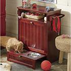 Beadboard Pet Cabinet