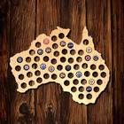 Australia Beer Cap Map