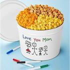 Easter 2-Gallon Decorate Your Own Popcorn Tin with 3 Flavors