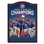 2016 World Series Champions Chicago Cubs Wall Decor