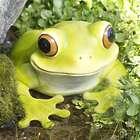 Peeping Frog Garden Sculpture