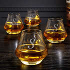 4 Personalized DiMera Whiskey Glasses