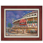 2016 World Series Wrigley Field Canvas Thomas Kinkade Art Print