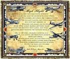 High Flight Tapestry Throw